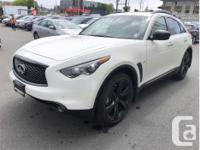 Make Infiniti Model Qx70 Year 2017 kms 10800 Trans