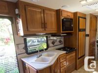 This immaculate motorhome has lots of space including