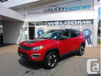 Make Jeep Model Compass Year 2017 Colour Red kms 8584