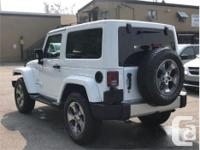 Make Jeep Model Wrangler Year 2017 Colour White kms