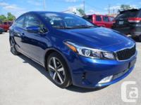 Make Kia Model Forte Year 2017 Colour BLUE kms 3000
