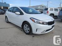 Make Kia Model Forte Year 2017 Colour WHITE kms 33000