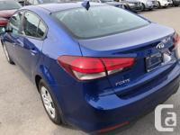Make Kia Model Forte Year 2017 Colour Blue kms 49457