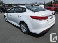 Make Kia Model Optima Year 2017 Colour WHITE kms 10195