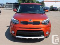 Make Kia Model Soul Year 2017 Colour Orange kms 12232