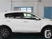 Make Kia Model Sportage Year 2017 Colour White Trans