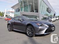 Make Lexus Model RC 350 Year 2017 Colour Grey kms 9489
