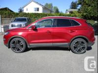 Make Lincoln Model MKC Year 2017 Colour Ruby Red