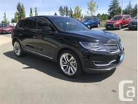 Make Lincoln Model MKX Year 2017 Colour Black kms 4243