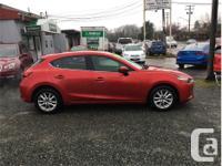 Make Mazda Model MAZDA3 Year 2017 Colour Red Metallic