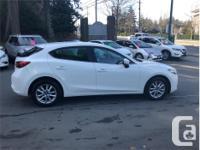 Make Mazda Model MAZDA3 Year 2017 Colour White kms