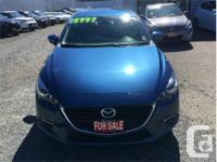Make Mazda Model MAZDA3 Year 2017 Colour Blue Metallic