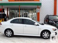Make Mitsubishi Model Lancer Year 2017 Colour White