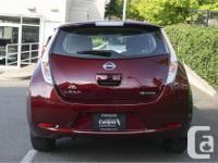 Make Nissan Model Leaf Year 2017 Colour Red kms 30280