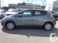 Make Nissan Model Leaf Year 2017 Colour Grey kms 41806