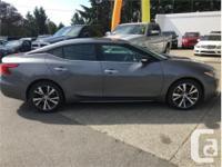 Make Nissan Model Maxima Year 2017 Colour Grey kms