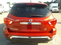 Make Nissan Model Pathfinder Year 2017 Colour Red kms