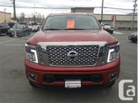 Make Nissan Model Titan Year 2017 Colour Red kms 11549