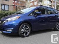 Make Nissan Model Versa Note Year 2017 kms 5400 Trans