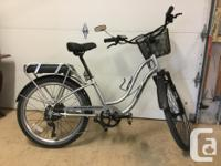 Used, Top of the line, Premium e-bike Cruiser Style. Just one for sale  British Columbia