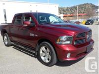 Make Ram Model 1500 Year 2017 Colour Red kms 34785