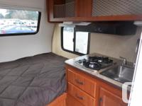 The 2016 Rayzr FB is a hard side camper made for long