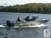 2017 Stanley Predator Multi-purpose boat designed to be