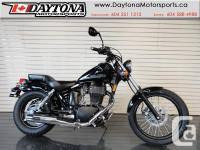 2017 Suzuki Boulevard S40 Cruiser * Retro look with a