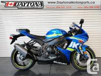 2017 Suzuki GSX-R750 Super Sport Bike * From the street