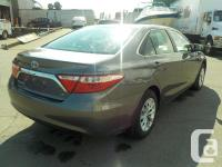 Make Toyota Model Camry Year 2017 Colour Grey kms