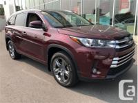 Make Toyota Model Highlander Year 2017 Colour Red kms