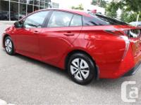 Make Toyota Model Prius Year 2017 Colour Red kms 12503
