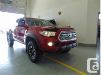 Make Toyota Model Tacoma Year 2017 Colour Red kms