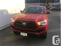 Make Toyota Model Tacoma Year 2017 Colour Barcelona Red