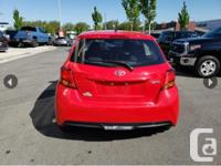 Make Toyota Model Yaris Year 2017 Colour red kms 29000