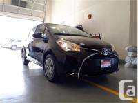 Make Toyota Model Yaris Year 2017 Colour Black kms