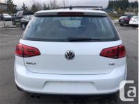Make Volkswagen Model Golf Year 2017 Colour White kms
