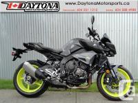 2017 Yamaha FZ-10 Sport Motorcycle * Based on the R1 !