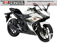 2017 Yamaha YZF-R3 ABS Sport Bike * BRAND NEW -White *
