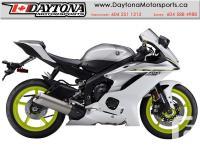 2017 Yamaha YZF-R6 ABS Sport Bike * BRAND NEW - White *
