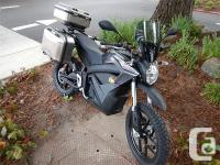 2017 Zero DSR ZF13.0 Electric Dual Sport Motorcycle *