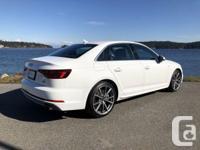 Make Audi Model A4 Year 2018 Colour Ibis White kms