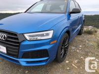 Make Audi Model Q3 Year 2018 Colour Hainan Blue Met