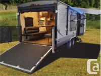 Price: $38,995 Stock Number: RV-1745 This toy hauler