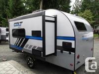 Enjoy all the comforts of a full sized trailer but in a