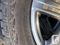 *Price reduced to $1100* Selling the stock rims and