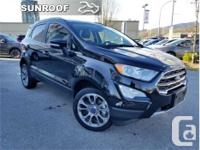 Make Ford Model Ecosport Year 2018 Colour Black kms