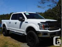 Make Ford Model F-150 Year 2018 Colour White kms 7887