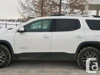 Make GMC Model Acadia Year 2018 Colour white kms 23000