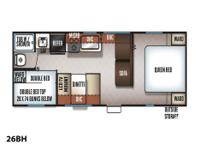 Price: $25,995 Stock Number: RV-1700 Awesome Bunk Floor